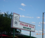 We ate here in Clinton, Oklahoma