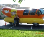 We exited for gas and found the wienermobile!