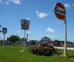 House in Fanning Missouri with a large collection of Route 66 memorabilia