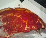 Delicious Chicago pizza!