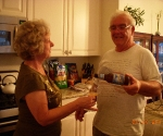 Aunt Kathy apparently will not drink beer out of a bottle.  Throughout our trip she used a different glass for every bottle of beer