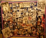 The finished photo collage for my Uncle Mike's memorial
