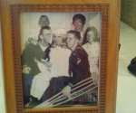 Photo of Uncle Skip, Aunt Kathy, Uncle Mike, Mom and my grandparents from Aunt Kathy's graduation