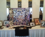 The memorial table for Uncle Mike
