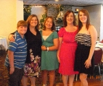 My cousins, Kim and Sandy and their three children.  Kim and Sandy and I used to play together when we were little.