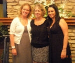Aunt Kathy and her daughters, Kirsten and Dana