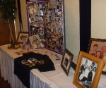Full viewof the memorial table