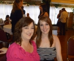 My cousin Kim and her daughter Alexis