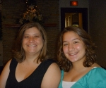 My cousin Sandy and her daughter Haily