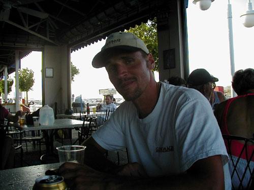 Karl at the bar