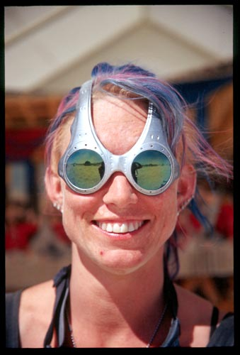 Cheryl! At Burning Man 2001