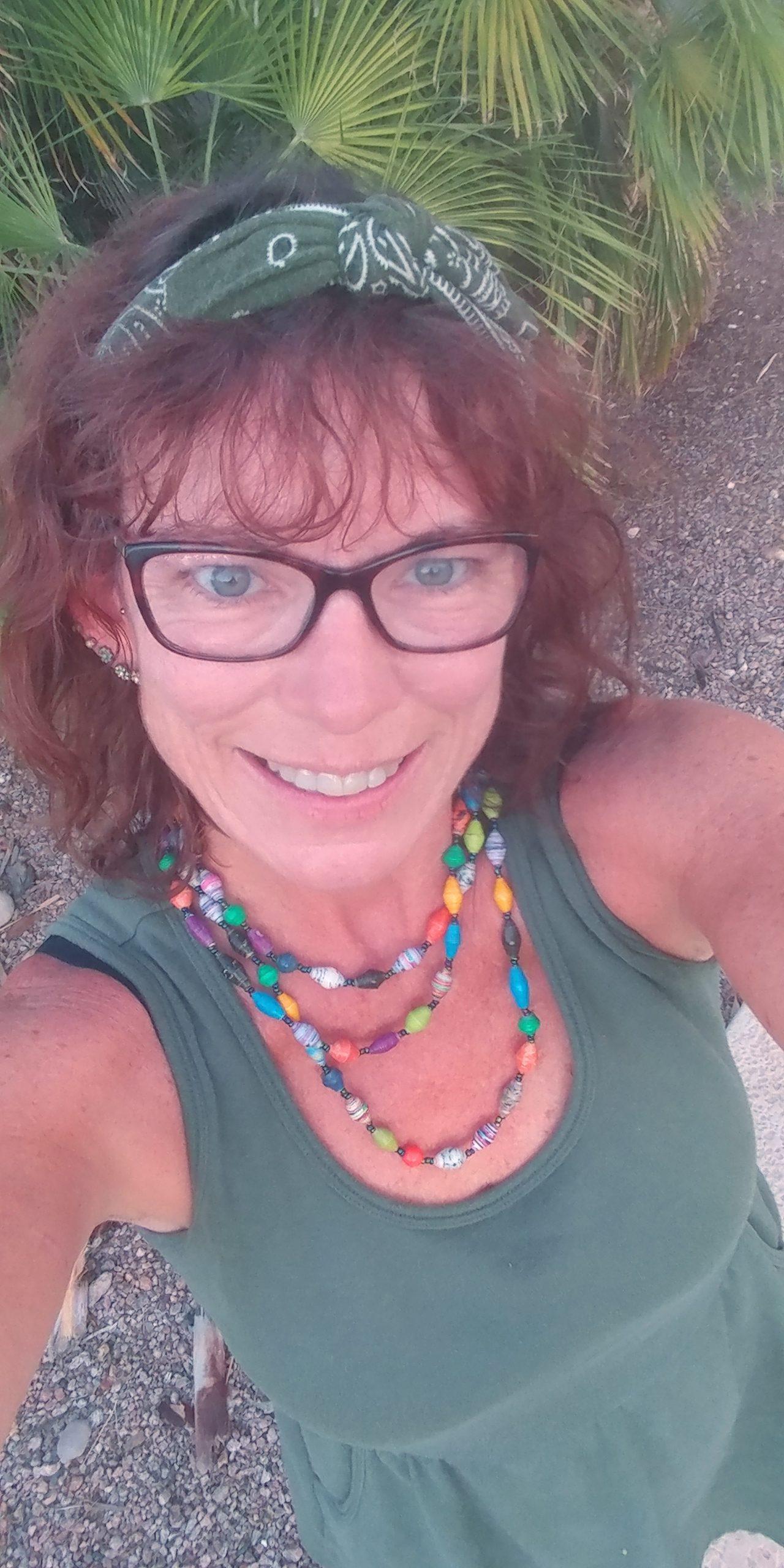 Cheryl In Green Sundress